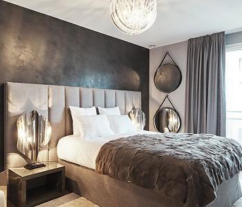 Дизайн спальни от Алин Эрбе