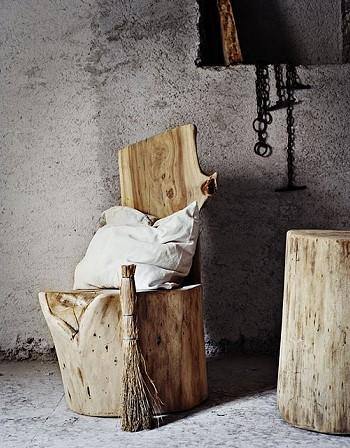 Деревянная мебель Андреа Бруги