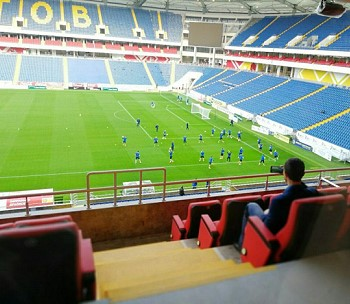 Стадион в Ростове-на-Дону