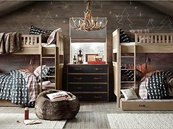 Спальня на Новый год