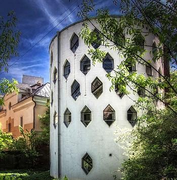 Дом Мельникова, 1927–1929 гг.