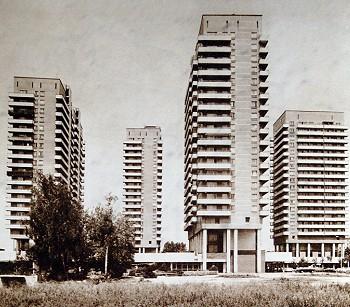 ЖК «Лебедь», 1967–1973 гг.
