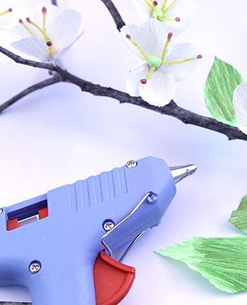 Горячий пистолет для цветов из бумаги