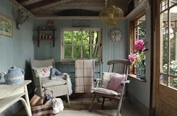 Дом в стиле шебби-шик