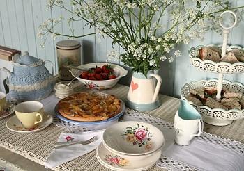 Завтрак в отеле для влюбленных