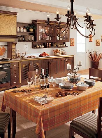 Мебель на кухню из дуба