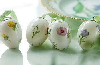 Яйца из фарфора