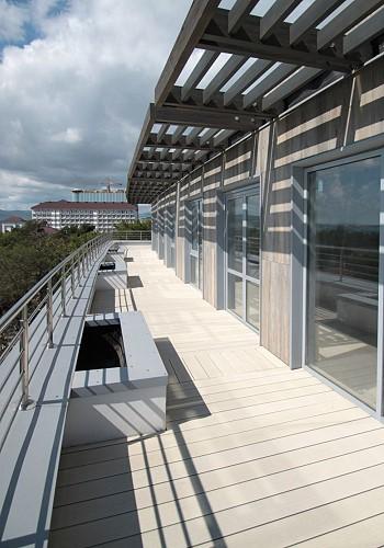 На балконе отеля Феллини