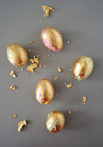 Декор яиц на Пасху