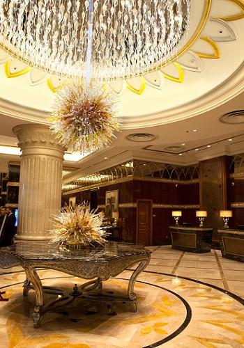 Лепной декор в отеле Лотте