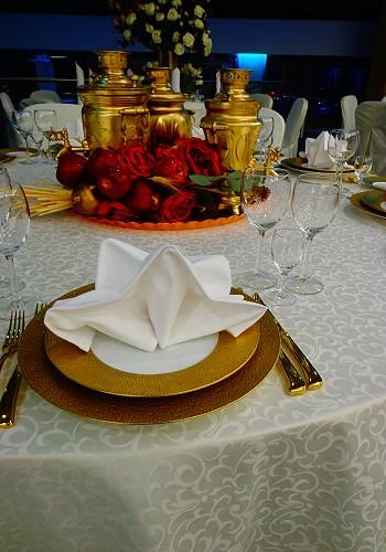 Свадебный декор в русском стиле
