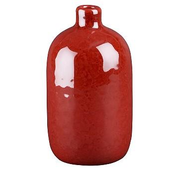 Красная ваза Crate and Barrel