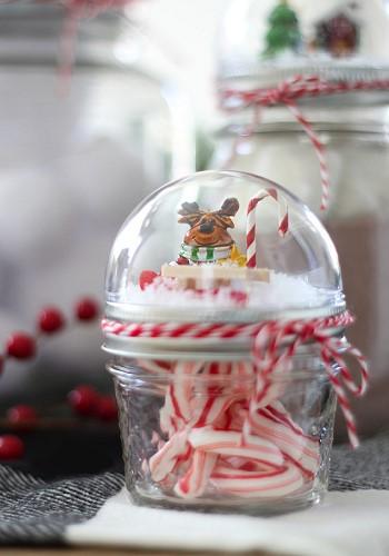 Новогодний декор - снежные шары