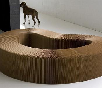 Мебель из крафт бумаги