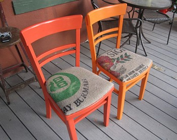 Перетяжка деревянных стульев