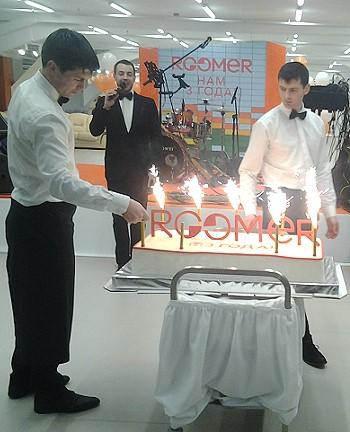 Праздничный торт Roomer