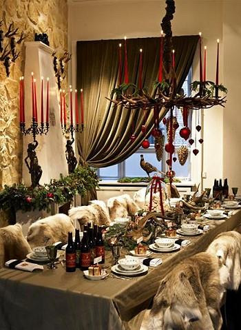 Рождество в мехах