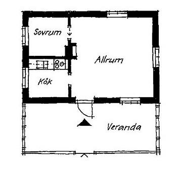 План схема загородного домика