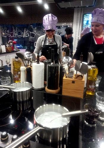 В кулинарной студии Мука