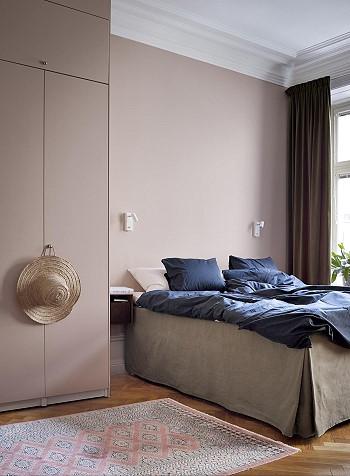 Спальня в Швеции