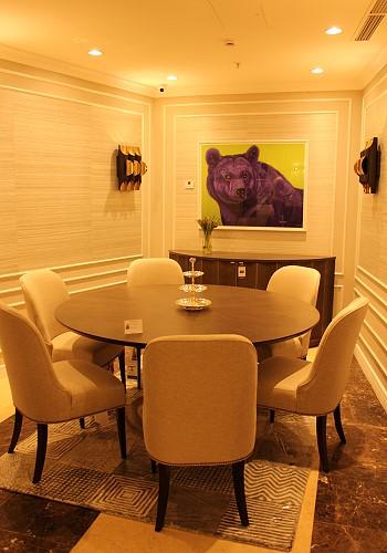 Интерьер гостиной из мебели Caracole