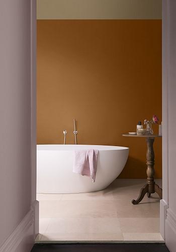 Цвет стен в ванной комнате