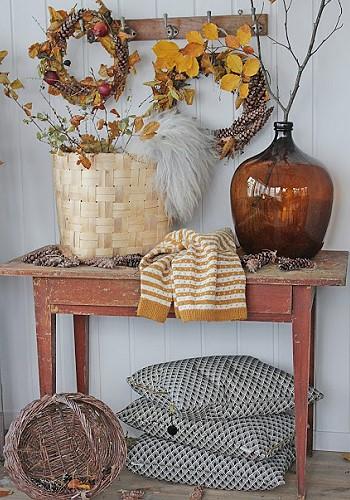 Осенний скандинавский декор