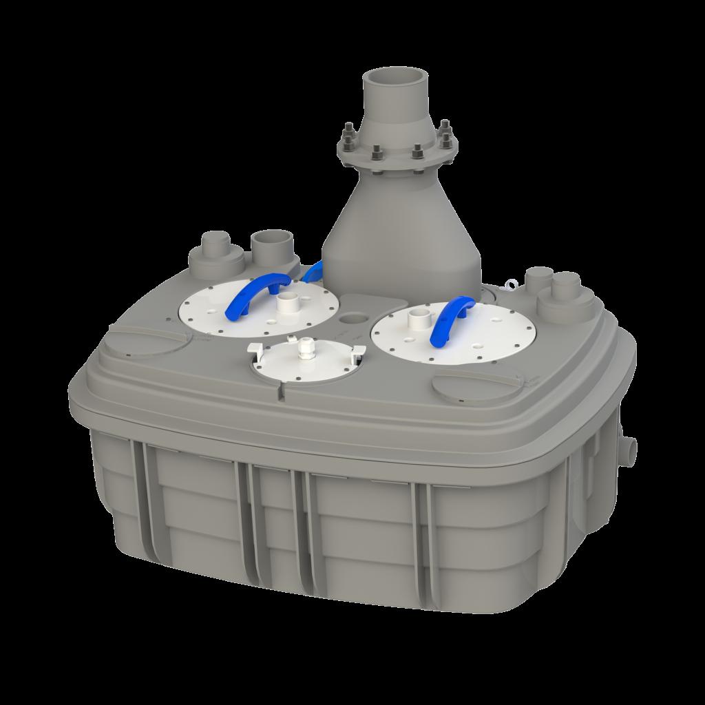 Как работает канализационная насосная станция SFA