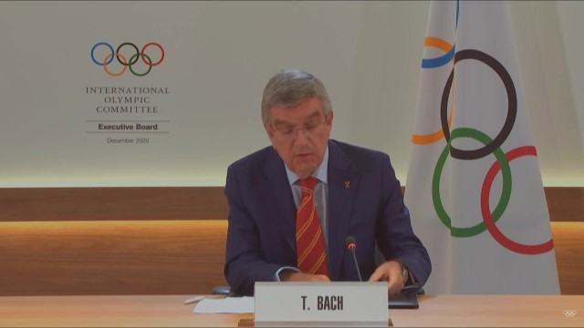 Switzerland: IOC President Thomas Bach announces COVID-19 counter-measures for Tokyo 2020