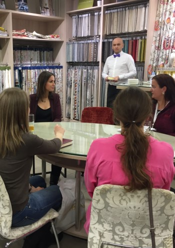 Пресс-конференция Алин Эрбе в Москве