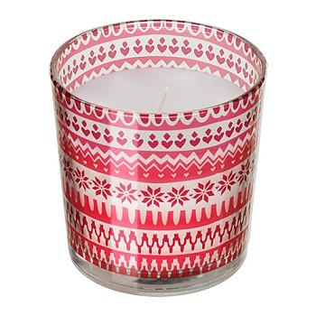 Ароматическая свеча в стакане
