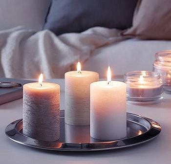 Ароматические свечи с запахом ванили