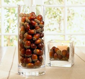 Орехи в вазе