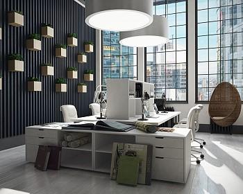 Офис для дизайнеров и архитекторов в Нью-Йорке