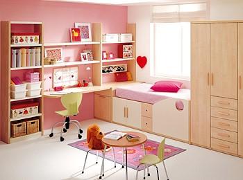 Спальня для маленькой девочки