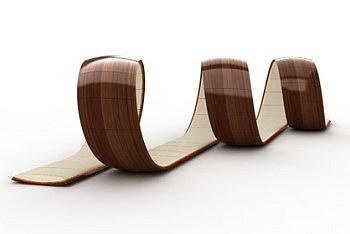 Кресло спираль
