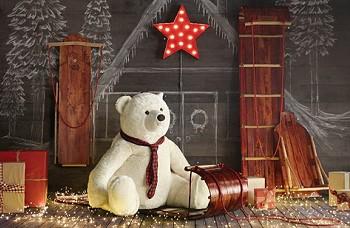 Рождественский декор детской комнаты