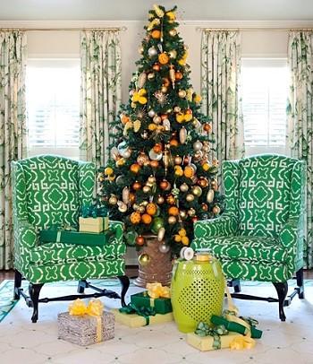 Цитрусовая елка
