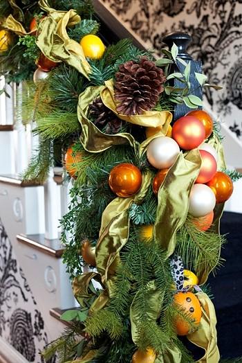Цитрусы на елке