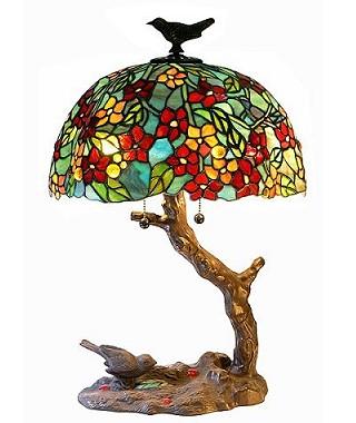 Цветочная лампа