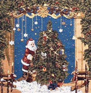 Рождественский гобелен