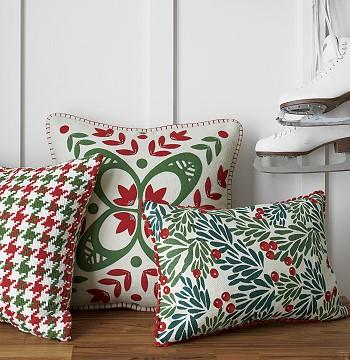 Дизайн новогодних подушек