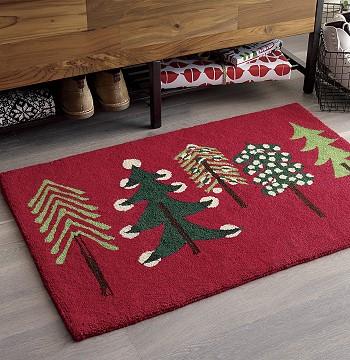Рождественский коврик