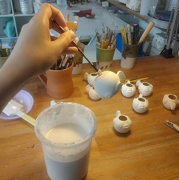 Процесс изготовление керамических изделий