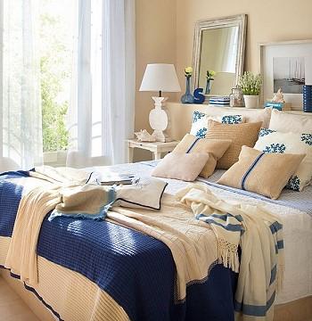 Спальня. Морской стиль