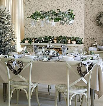 Декор гостиной на новый год