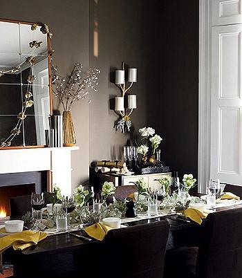 Как декорировать гостиную на праздник
