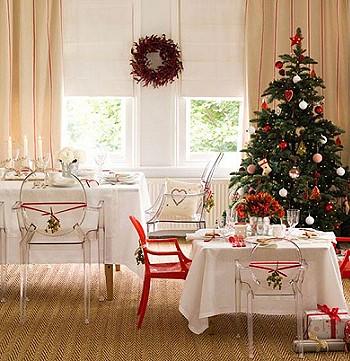 Декор комнаты на рождество