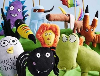 Игрушки для детей в ИКЕА
