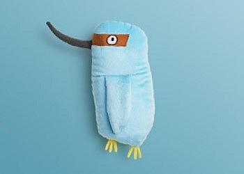 Птица мягкая игрушка